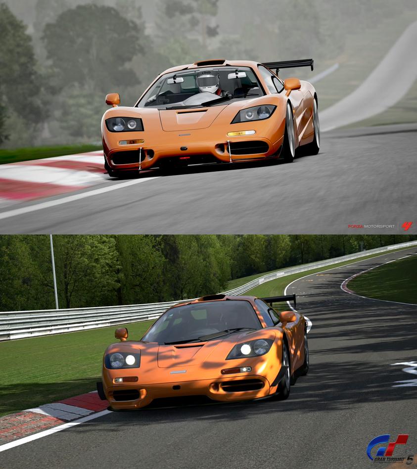 Forza Motorsport 4 Vs Gran Turismo 5 By Angelneo107