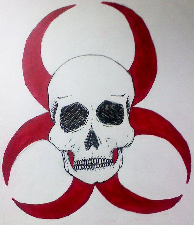 biohazard skull - photo #25