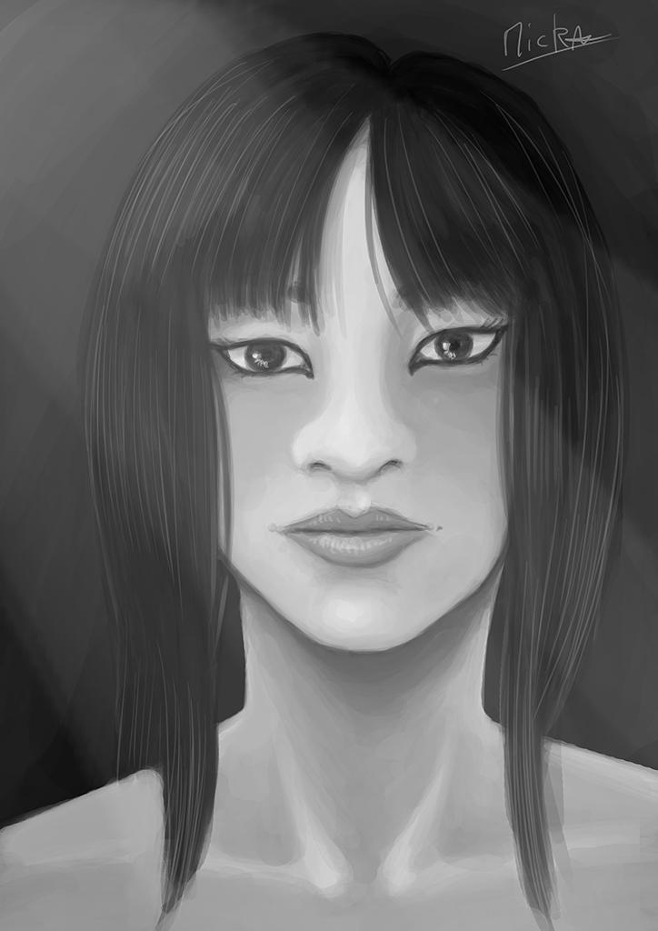 Asian Girl 3 by micka9