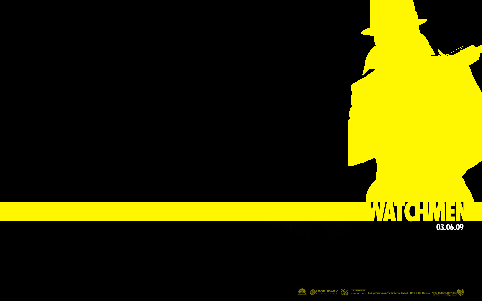 Rorschach Wallpaper -BLACK- by Unit-076