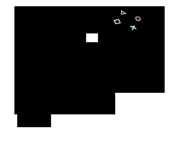 ps4 controller sketch templates