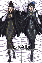 Commission: Bayonetta by Z-Raid