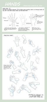 Practice Sheet: Hands