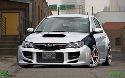 Time Atack Subaru WRX STI by Mr-Ramon