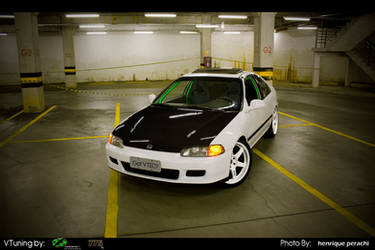 Honda Civic Coupe  JDM by Mr-Ramon