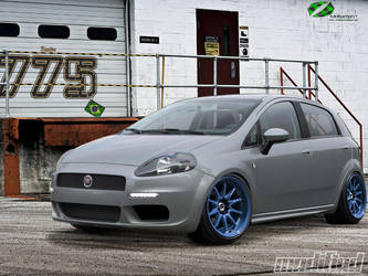 Fiat Punto Street by Mr-Ramon
