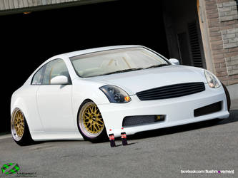 Stanced Infiniti G35 by Mr-Ramon