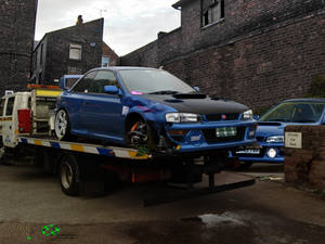 Subaru Impreza Touge Failed