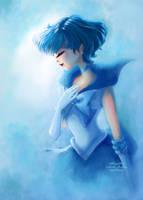 Sailor Mercury by gabrielleandhita