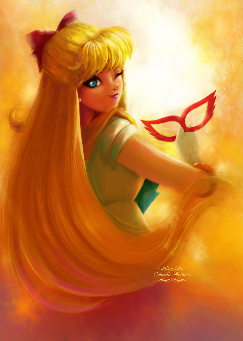Sailor Venus by gabrielleandhita