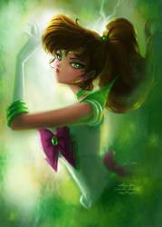 Sailor Jupiter by gabrielleandhita