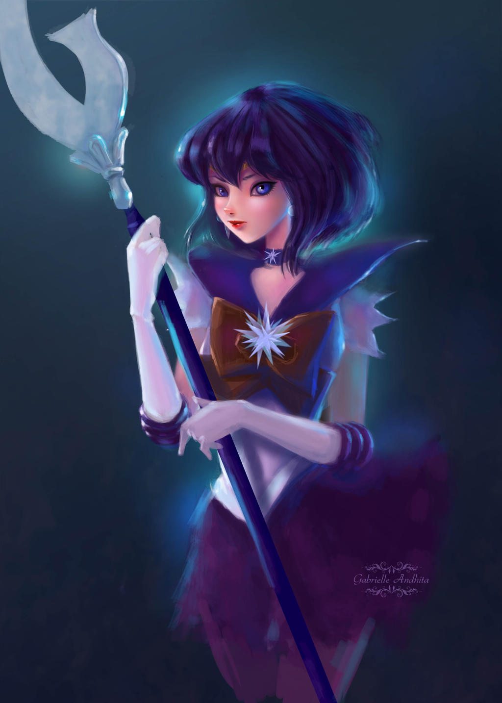 Sailor Saturn by gabrielleandhita