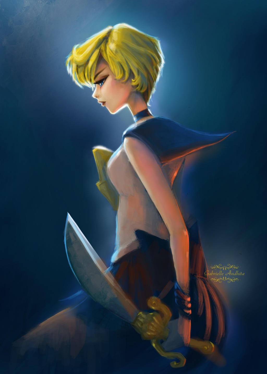 Sailor Uranus by gabrielleandhita