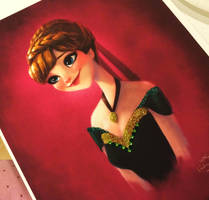 Anna With Beads and Glitters