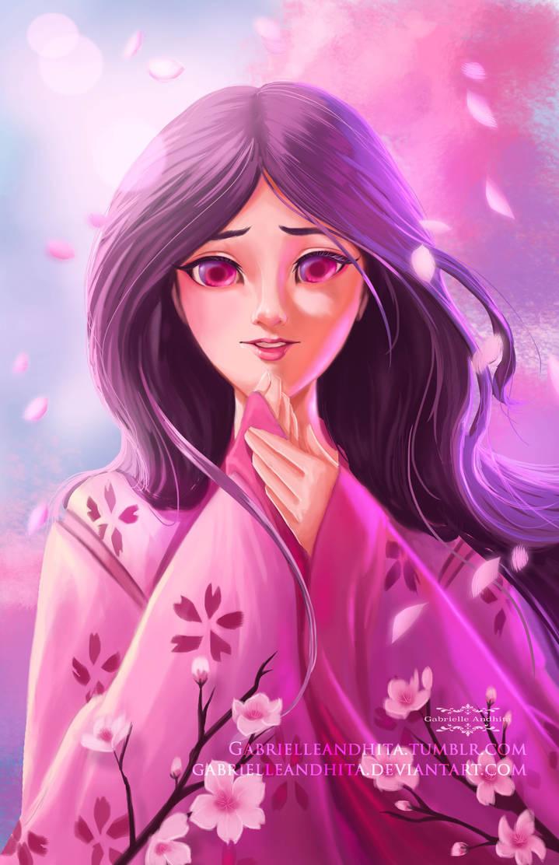 Princess Kaguya by gabrielleandhita