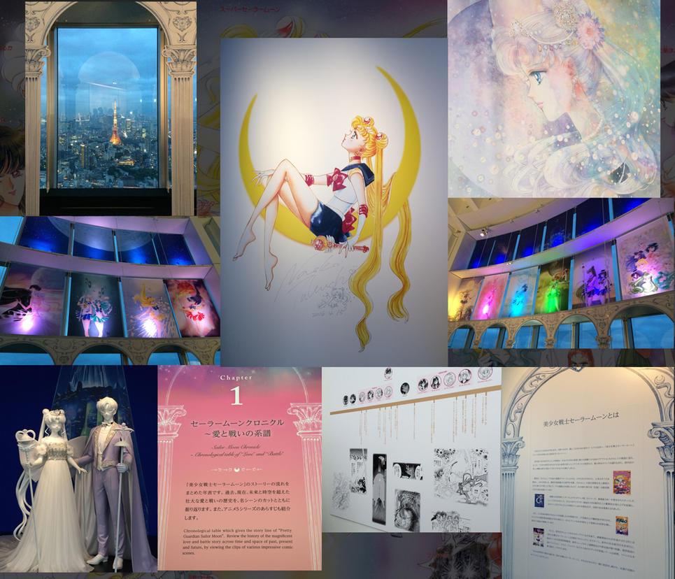 Sailor Moon Exhibition - Roppongi Hills, Tokyo by gabrielleandhita