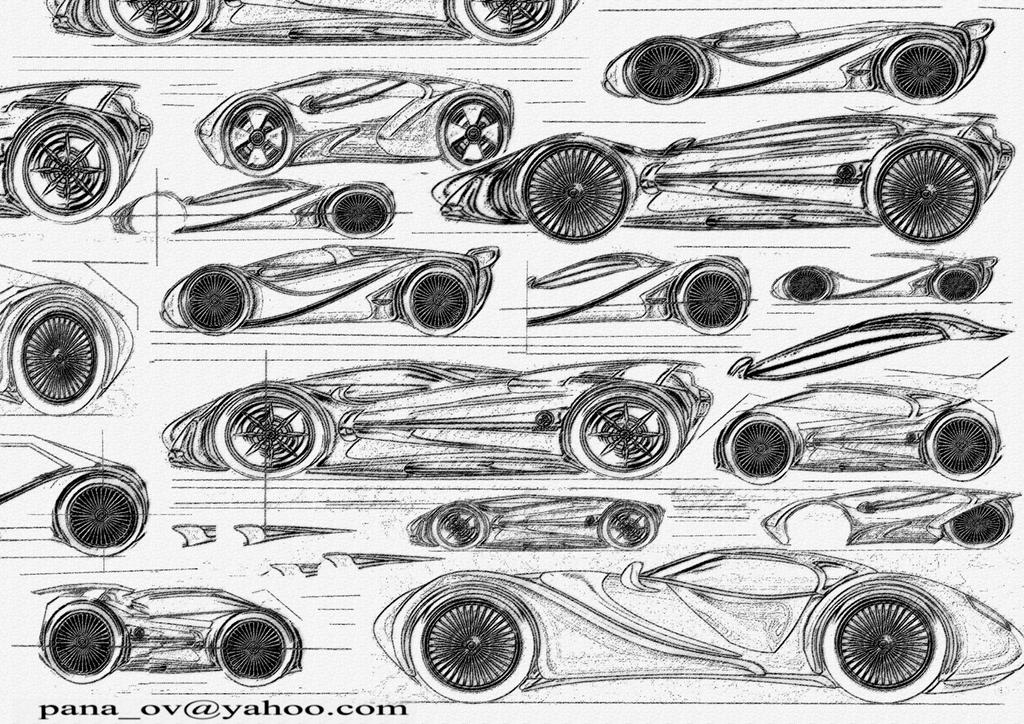 PENCIL DRAWING - CONCEPT CAR by ovidiuart on DeviantArt