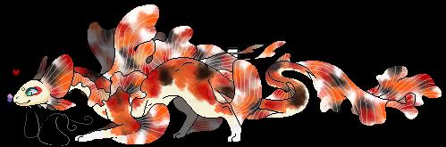 Koi Dragon Fanart by Dragon3144