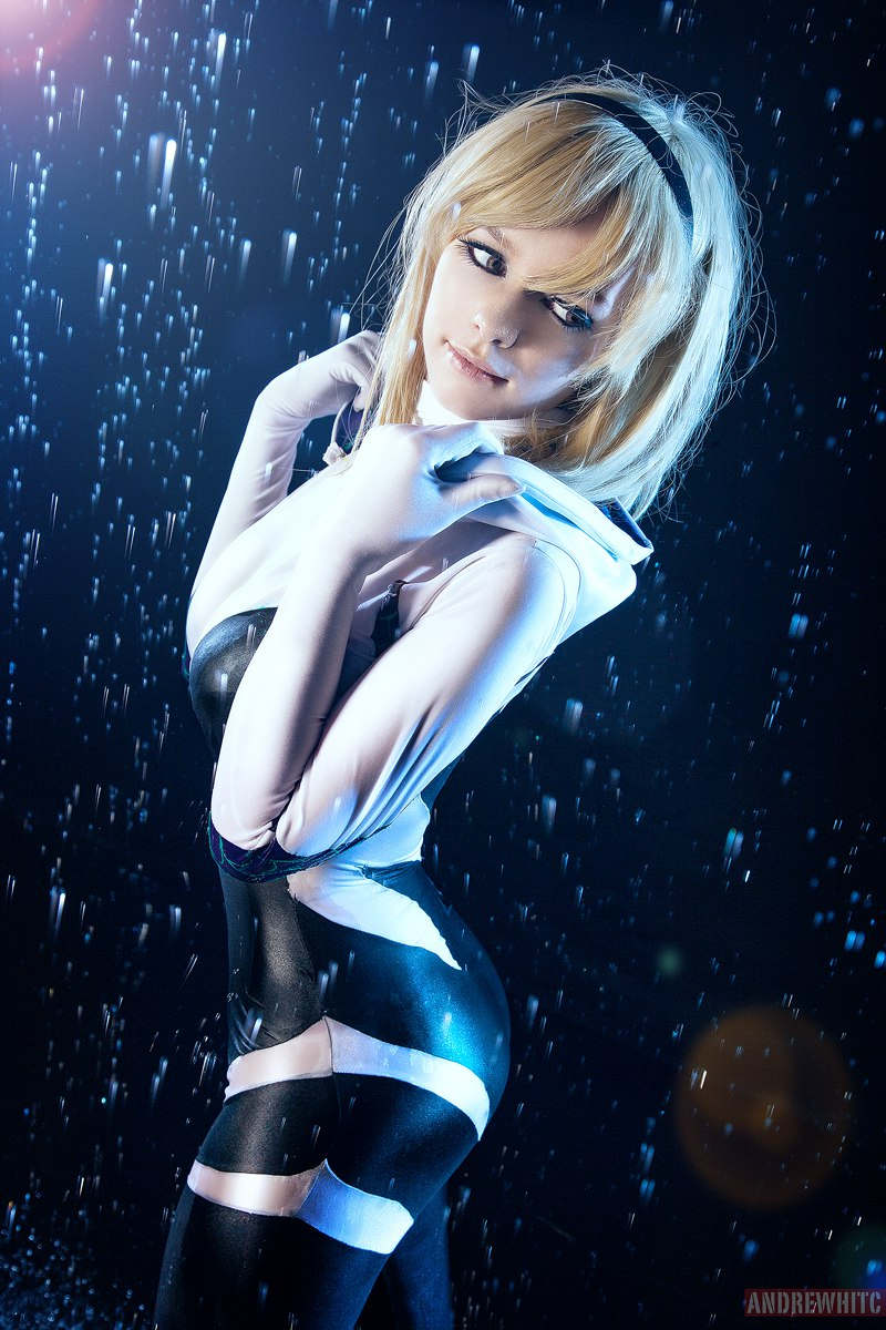 Spider Gwen By Taorich On Deviantart