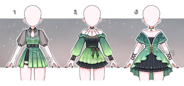 Set Price Adoptable outfits [CLOSED|TYSM!]