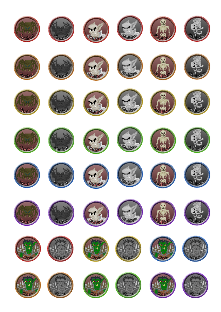 It's just an image of Clean Printable D&d Character Tokens