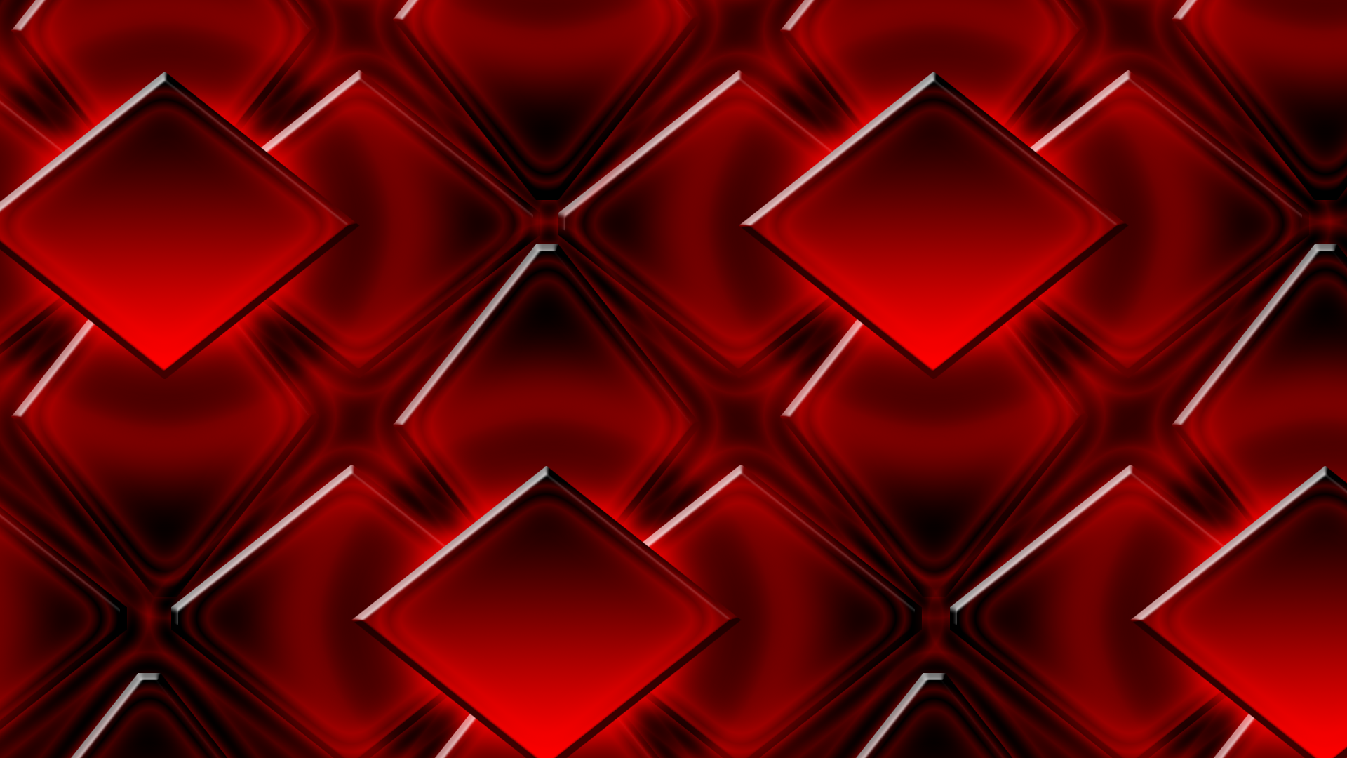 Black and red diamond wallpaper by supergamerx on deviantart for Red 3d wallpaper