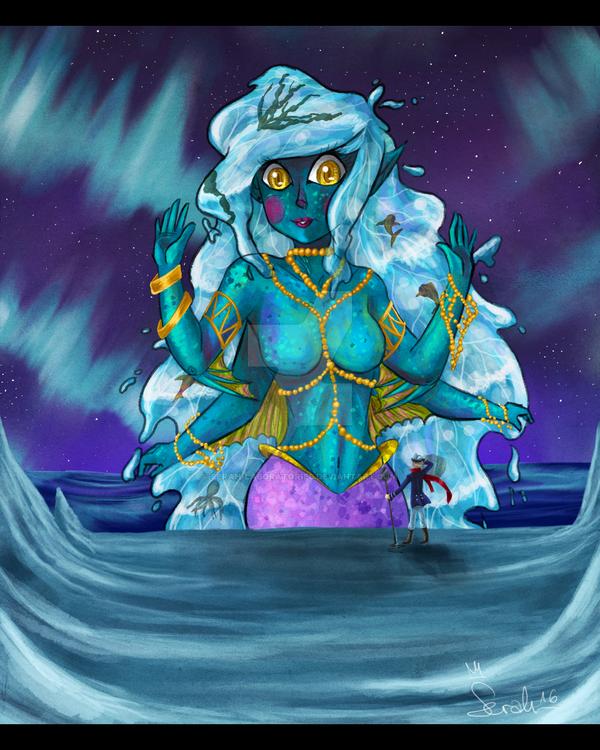 Ocean Goddess by Serah-Laboratories