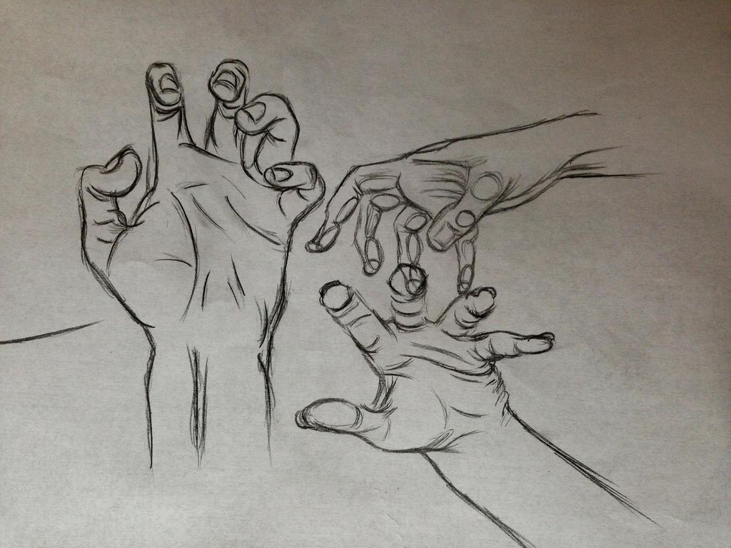 Hand Gesture Sketch By Mikesem1 On DeviantART