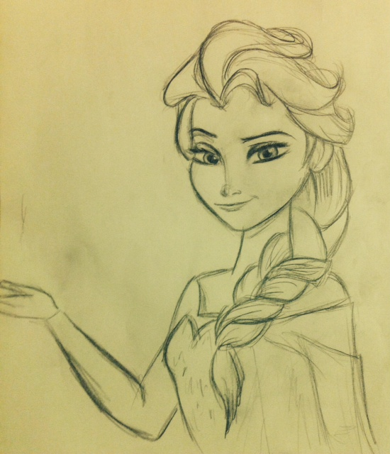 How To Draw Anna Anna From Frozen Drawing Tutorial | Apps Directories