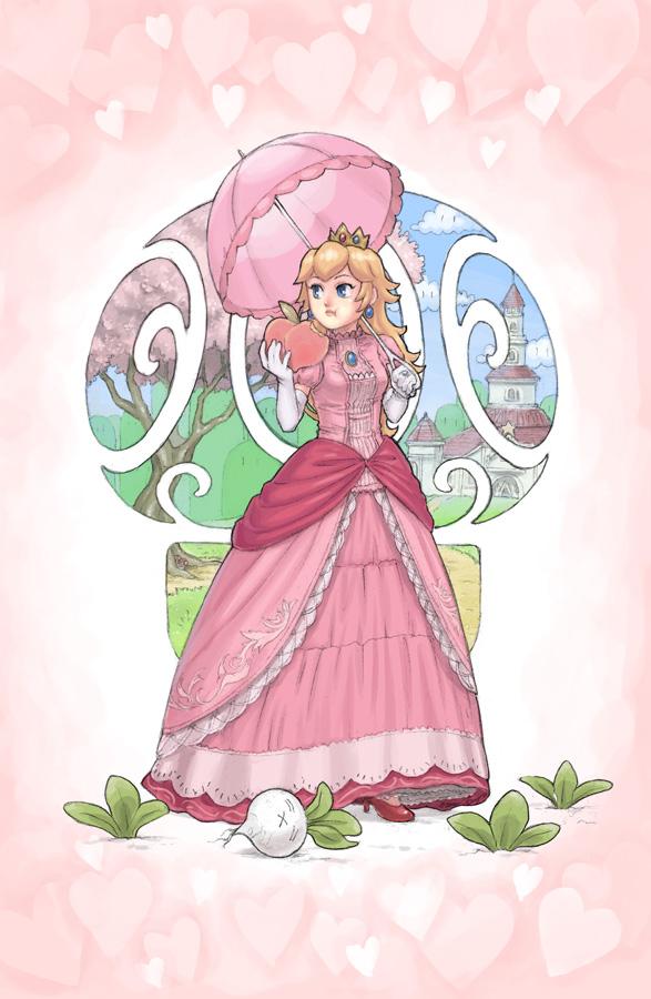 Princess Peach by slimu