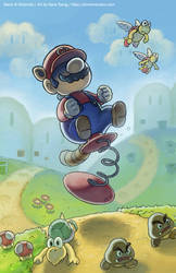 Mario Spring Toy by slimu