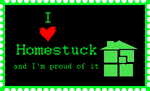 I love Homestuck stamp