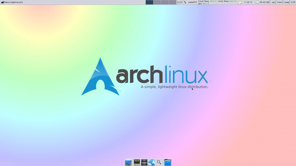 Captura Archlinux 1920x1080