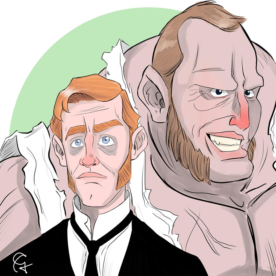 Mr. Hyde and Dr. Jekyll by Guinicius