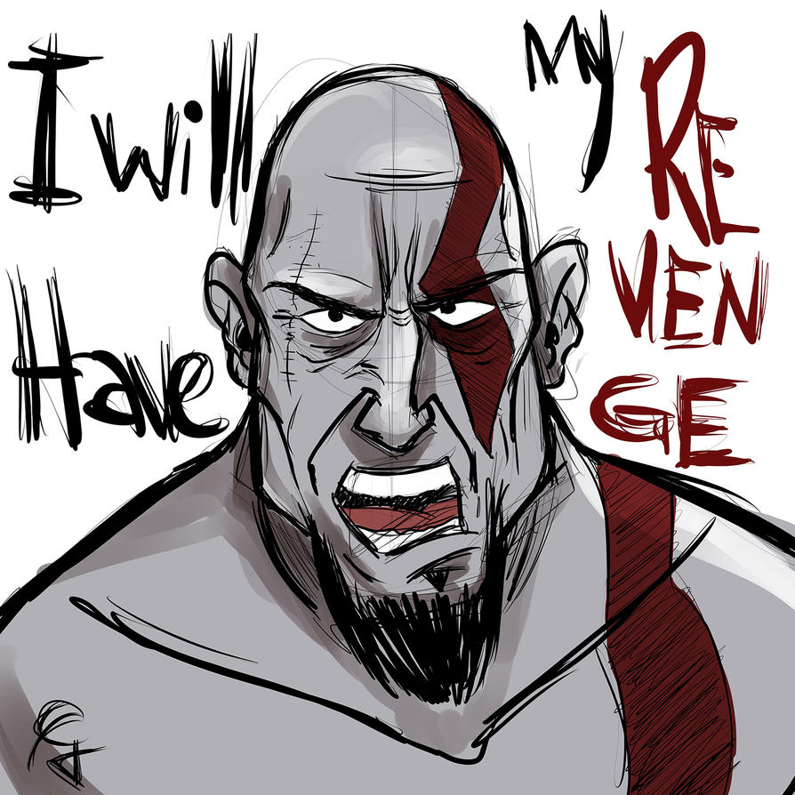 Kratos Sketch by Guinicius