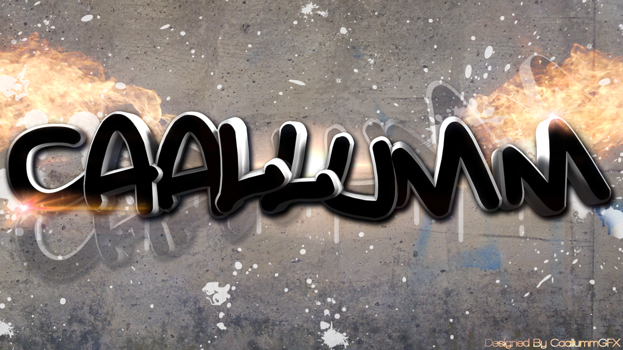 Caallumm Graffiti Wallpaper by Caaallum