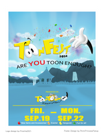 ToonFest 2014 Unofficial Poster Design by PkmnPrincessPiplup