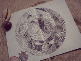 My sketchbook #11 Tai Ji Quan by rusinovamila