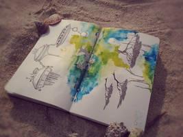 Series Hemispheres. Fantasy. by rusinovamila