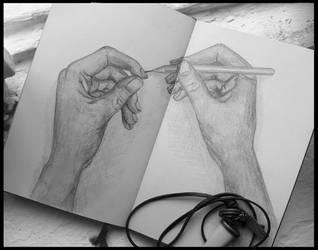 My sketchbook #16 by rusinovamila