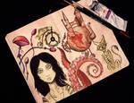 My sketchbook #17 Alice: Madness Returns