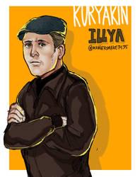 kuryakin Illya by 35THESTRANGE