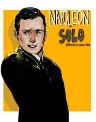Napoleon Solo by 35THESTRANGE