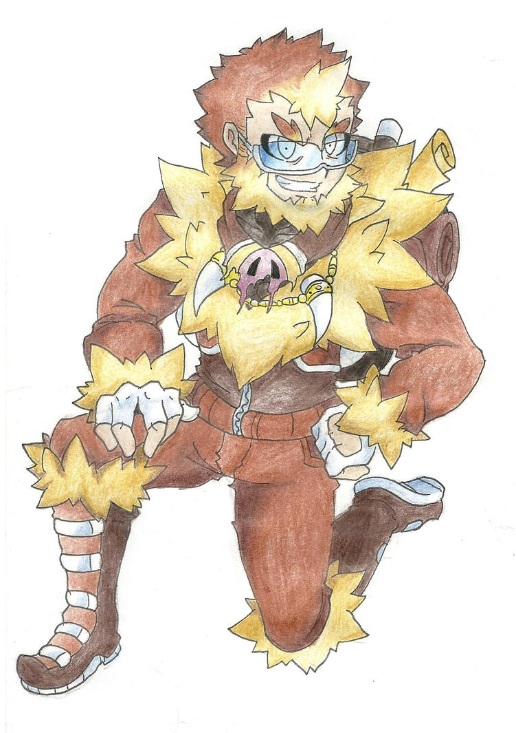 Mamoswine Gijinka- Pokemon by AtmaFlare on DeviantArt