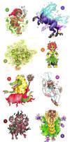 Brazilian folklore galore! part 1 by AtmaFlare