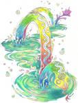Yurlungur, the Rainbow Serpent
