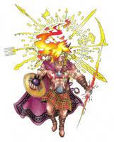 Lugh, Irish god of all skills by AtmaFlare