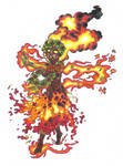 Pele, Hawaiian goddess of volcanoes