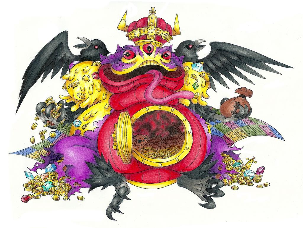 Belphegor Mammon By Dminorchrystalis Deviantart – Dibujos Para Colorear