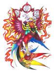 Suzaku, Vermilion Bird of the South